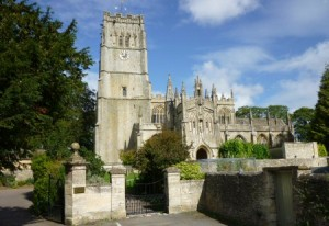 northleach church in sunlight