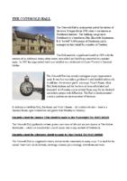 Cotwold Hall Brochure – November 2016