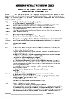 Full Council Minutes 25 January 2012