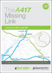 A417 missing link brochure