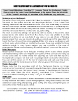 NORTHLEACH Newsletter February 2014