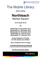 The Mobile Library – Northleach Nov 15 – Feb 16