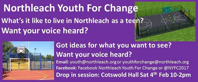 Youth for change drop in cotswold hall What s it like to live in a small town