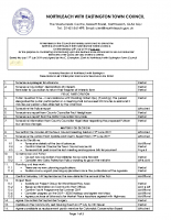 Town Council Agenda 24th July 2019