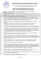 Minutes Town Council 17th July 2020