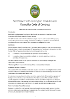 Councillor Code of Conduct – Adopted March 2021